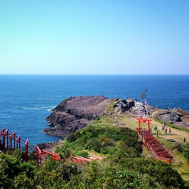Seaside inari shrine, Yamaguchi-ken