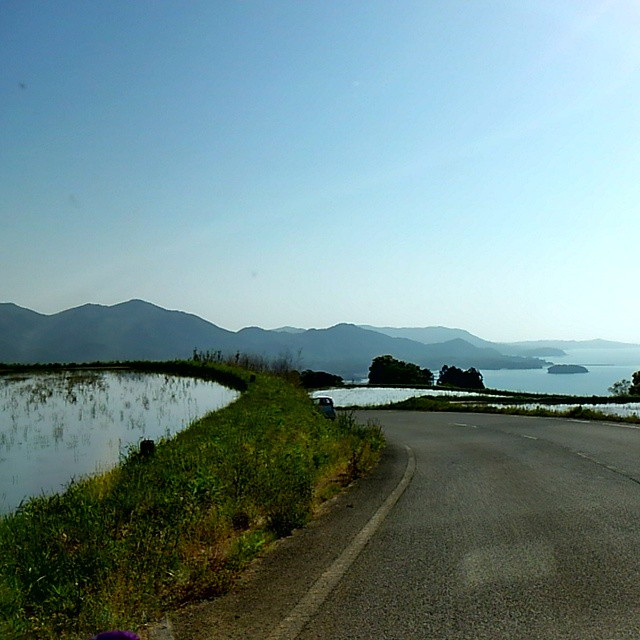 On the road in northern Yamaguchi
